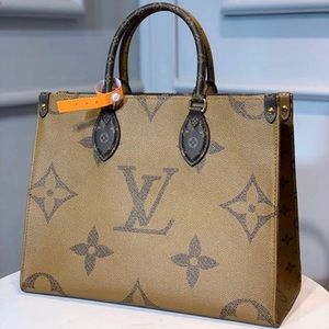 Louis Vuitton onthego brown